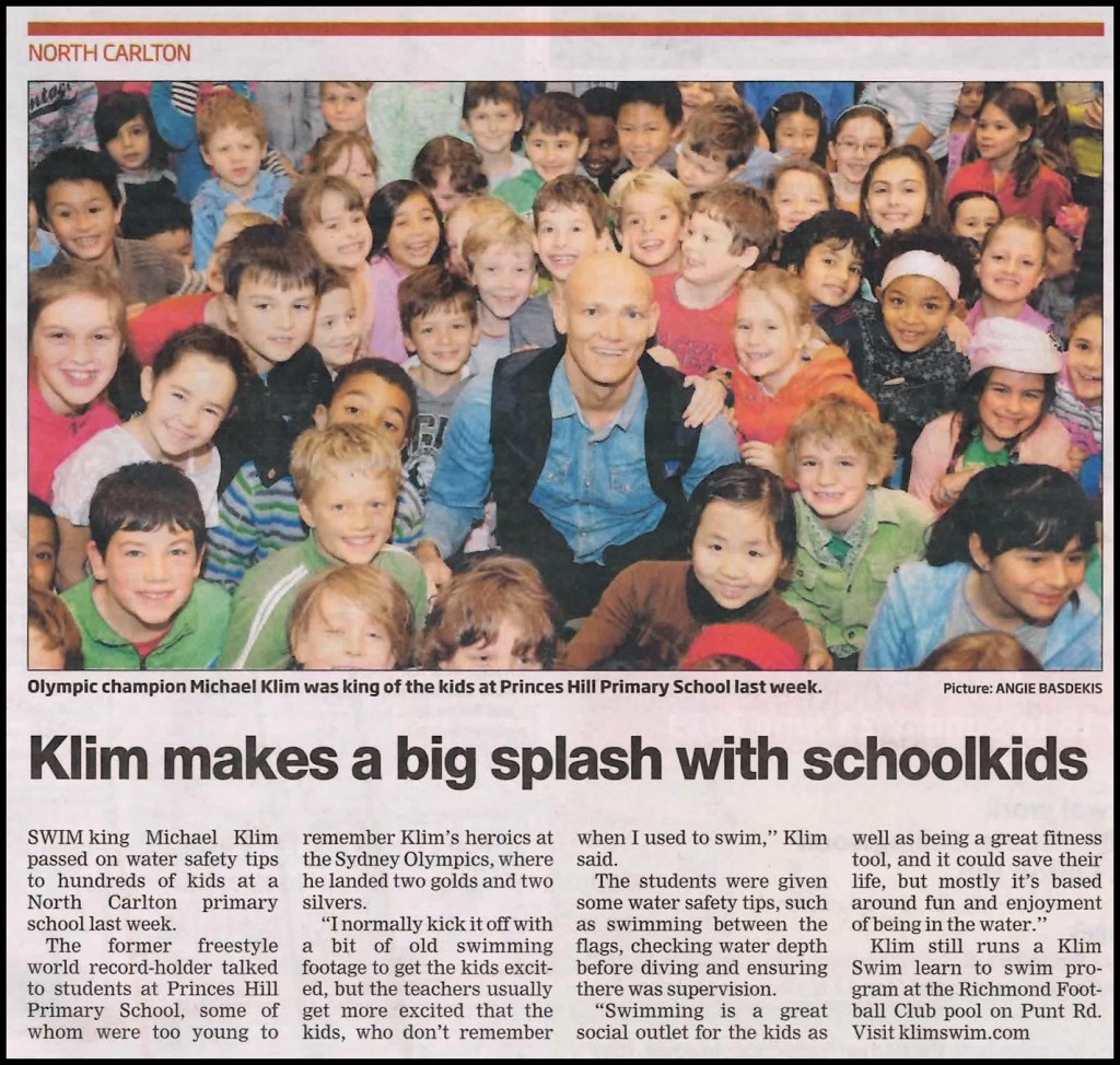 Article with photo taken from the Melbourne Leader, Monday June 10, 2013